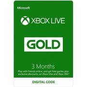 Xbox Live Gold 3+1 Month Membership GLOBAL (Region Free)