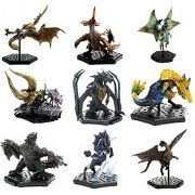 Capcom Figure Builder Monster Hunter Standard Model Plus The Best -Vol. 1, 2, 3- (Set of 9 pieces) (Japan)