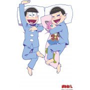 Osomatsu-san Original Illustration Yashinai Sheets: Osomatsu & Choromatsu Set (2nd Release) (Japan)