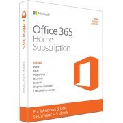 Microsoft Office 365 Home (1-year Subscription; 5 Licenses) (Region Free)