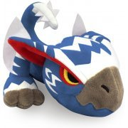 Monster Hunter Monster Plush: White Gale Nargacuga (Japan)