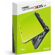 New Nintendo 3DS LL (Lime x Black) (Japan)