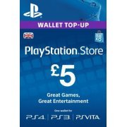 Playstation Network Card 5 GBP | UK Account (UK)