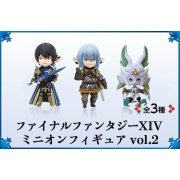 Final Fantasy XIV Minion Figure Vol.2 (Set of 3 pieces) (Japan)