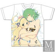Senran Kagura x Uppers Girls Double Upper T-shirt: Katsuragi & Hikage (M Size) (Japan)