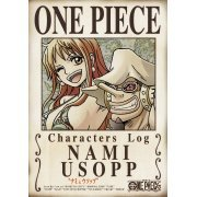One Piece Characters Log - Nami And Usopp (Japan)