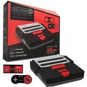 SNES/ NES Hyperkin RetroN 2 Gaming Console (Black) (US)