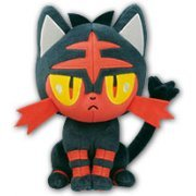 Pokemon Plush: Litten (Japan)
