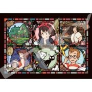Kiki's Delivery Service 208 Piece Art Crystal Jigsaw Puzzle: Town News of Koriko (Japan)