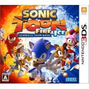 Sonic Toon Fire & Ice [25th Anniversary Set] (Japan)