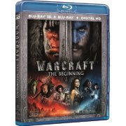Warcraft: The Beginning [2-disc 2D+3D] (Hong Kong)