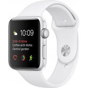 Apple Watch Series 2 38mm with White Sport Band (Silver) (Hong Kong)