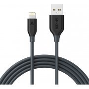 Anker PowerLine Lightning Cable 6ft / 1.8m (Space Grey)