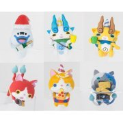 PUTITTO Series Youkai Watch Cup no Fuchi de Party!! (Set of 8 pieces) (Japan)
