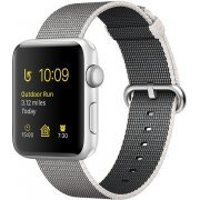 Apple Watch Series 2 38mm with Pearl Woven Nylon (Silver) (Hong Kong)