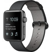 Apple Watch Series 2 42mm with Black Woven Nylon (Space Gray) (Hong Kong)
