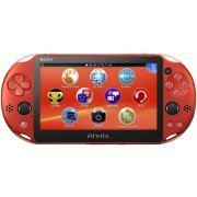PS Vita PlayStation Vita New Slim Model - PCH-2000 (Metallic Red) (Japan)