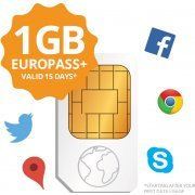 Transatel DataSIM (Sim Card + 1GB Europe)