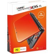 New Nintendo 3DS XL (Orange and Black) (Australia)