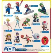 Choco Egg Super Mario Sports 7 Trading Figure (Set of 10 pieces) (Japan)