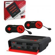 SNES/ Genesis/ NES Retro-Bit Super RetroTRIO 3 Gaming Console (Red & Black)