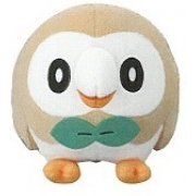 Pokemon Sun and Moon Plush: Rowlet (Japan)