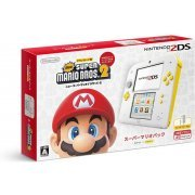 Nintendo 2DS Super Mario Pack (White Yellow) (Japan)