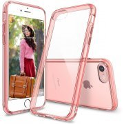 Ringke Fusion iPhone 7 Case (Rose Gold Crystal) (Korea)