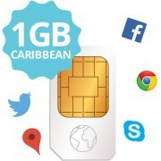 Transatel DataSIM (Sim Card + 1GB Carribean)