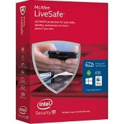McAfee Livesafe 2016, 1 Year [Unlimited Edition] (Region Free)