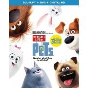The Secret Life Of Pets [Blu-ray+DVD+Digital HD] (US)