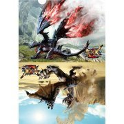Monster Hunter XX A4 Clear File: 2 New Main Monsters (Japan)