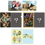 Monster Hunter XX A4 Clear File Set (Set of 4 pieces) (Japan)