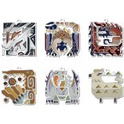 Monster Hunter XX  Monster Icon Stained Mascot Collection (Set of 10 pieces) (Japan)