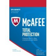 McAfee Total Protection 2017, Unlimited Devices, 1 Year (Region Free)