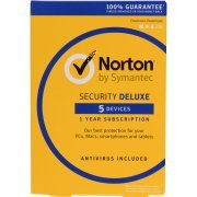 Norton Security Deluxe 2017, 1 Year, 5 PC (Europe)