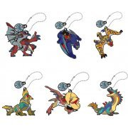 Monster Hunter Stories Ride On Rubber Mascot: Otomon (Set of 6 pieces) (Japan)
