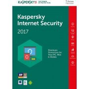 Kaspersky Internet Security 2017, 1 Year, 5 PC (Europe)