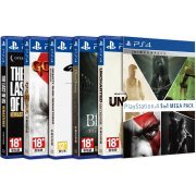 Playstation 4 Mega Pack 5 In 1 (Gravity Rush / Bloodborne / Uncharted / God of War 3 / The Last of Us) (Asia)