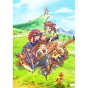 Monster Hunter Stories Ride On Dvd Box Vol.1 (Japan)