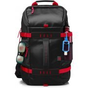 HP 15.6 Odyssey Backpack (Black/Red)