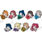 Love Live! Sunshine!! PitaColle Rubber Strap (Set of 9 pieces) (Japan)
