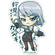 CAPCOM x B-SIDE Label Ace Attorney Sticker: Karma Mei (Japan)