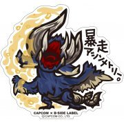 CAPCOM x B-SIDE Label Monster Hunter XX Sticker: Bousou Asymmetry (Japan)