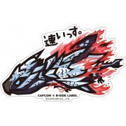 CAPCOM x B-SIDE Label Monster Hunter XX Sticker: Hayaissu (Japan)