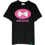 Splatoon - Ikanome T-shirt Black (XL Size) (Japan)