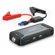Anker Compact Car Jump Starter and Portable Charger (Gray)