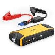 Anker Compact Car Jump Starter and Portable Charger (Yellow)