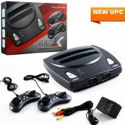 Gen-X NES & Genesis 2 in 1 System With 2 Controllers
