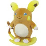 Pocket Monsters All Star Collection Plush: Raichu (Alola Form) (S) (Japan)